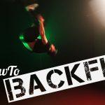 Backflip / Rückwärtssalto lernen – Quicktipp!