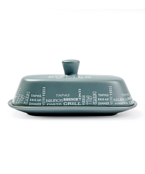 French Butter Dish (Gray)