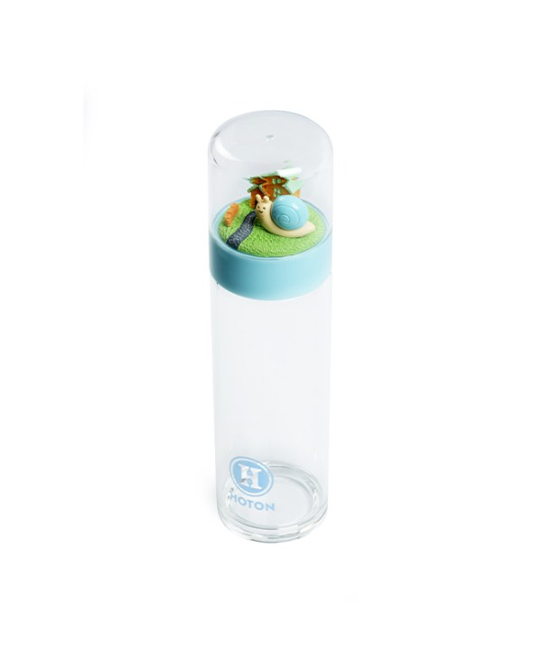 Double-Wall Glass Tumbler (Blue)