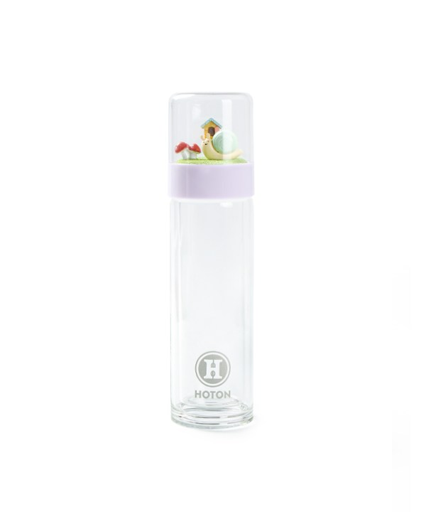 Double-Wall Glass Tumbler (Violet)