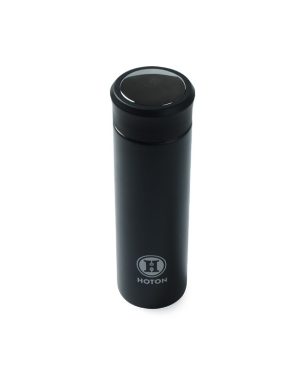 Electroplated Lid Thermos (Black)
