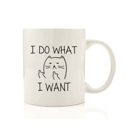 i do what i want mug