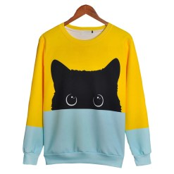 cute cat sweatshirt