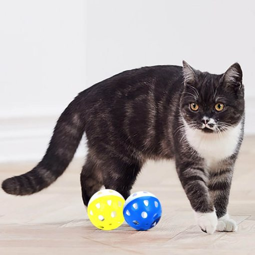 cat toy ball with bell