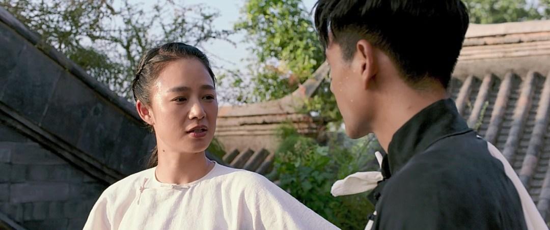 Eddie Peng e a garota.