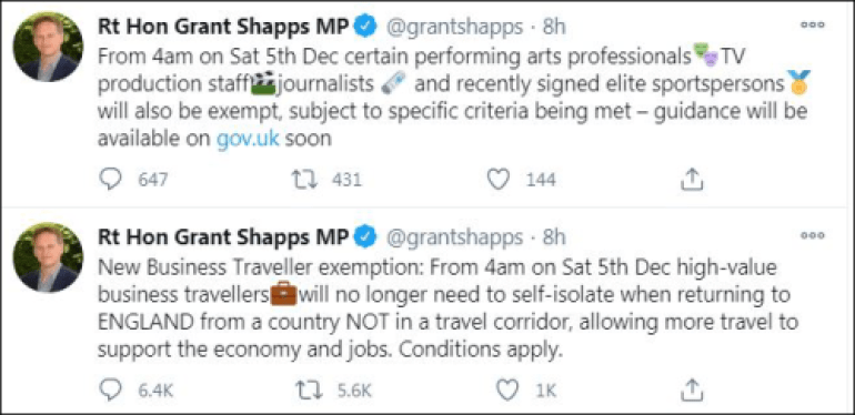 """有钱就可以为所欲为?英国:是的,""""高价值""""旅客入境无须隔离"""