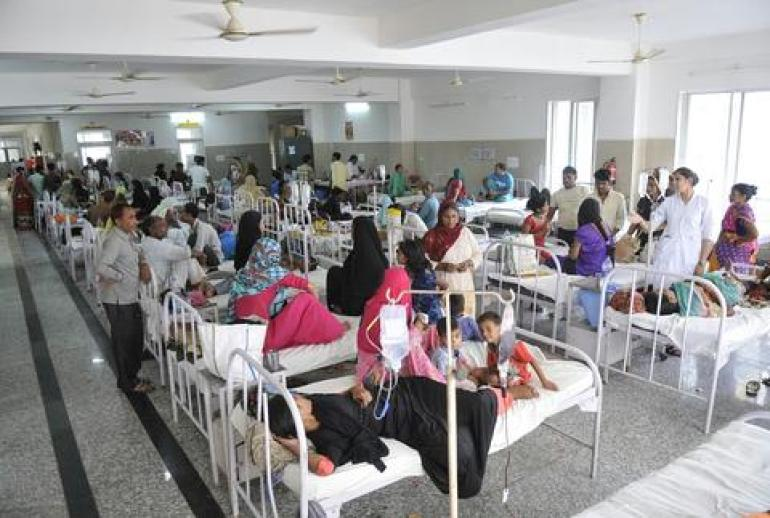 """印度""""神秘热病""""多数由登革热引起 专家:国内没疫苗"""
