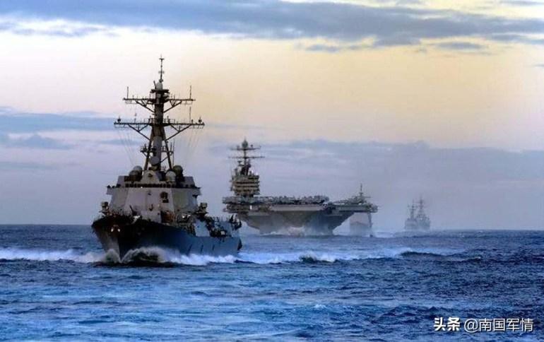 055大驱组航母分队现身美国周边,补给跟得上吗?能力不比美军差