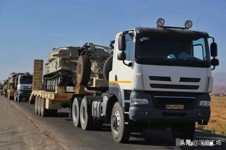伊朗数万主力集结边境!一旦动起手:巴铁3天就能消灭伊朗装甲师