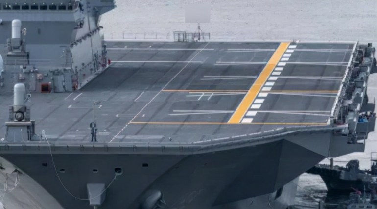 日本航母梦实现,苦心经营超过30年,出云号航母开始演练