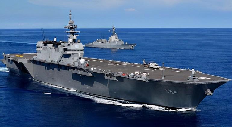 美国玩弄阴招,纵容日本装备航母,日本若动手挑衅,中国不会手软
