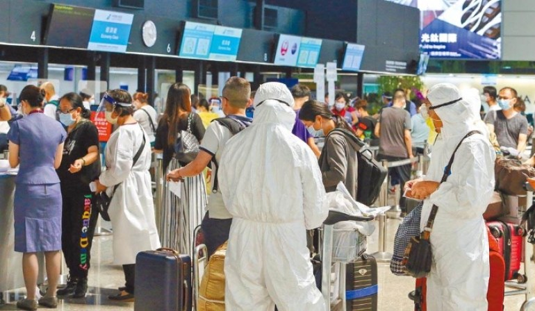 台湾地区11日新增10例境外移入 指挥中心:有7人是突破性感染
