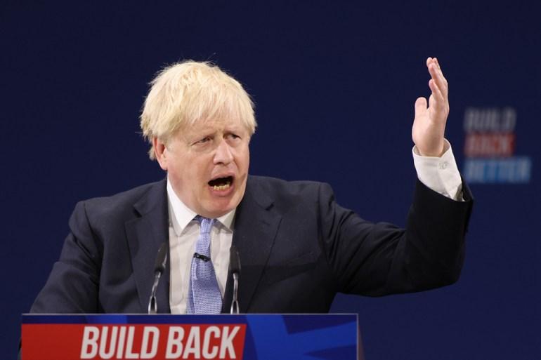 """约翰逊誓言打造""""高工资、高技能""""的英国,被批""""经济文盲"""""""