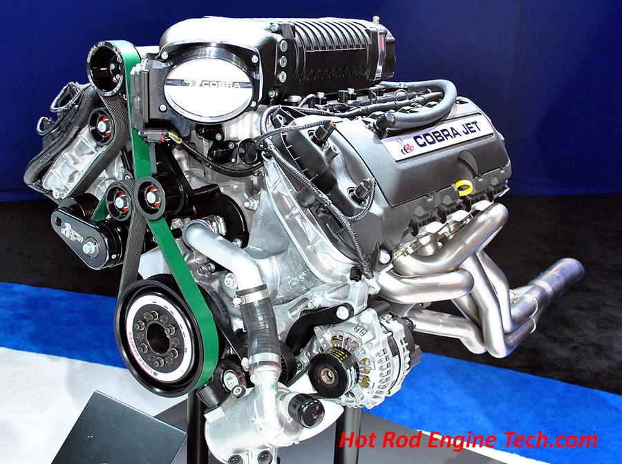 ford debuts 2016 mustang cobra jet drag package - Ford Mustang Cobra Jet Engine