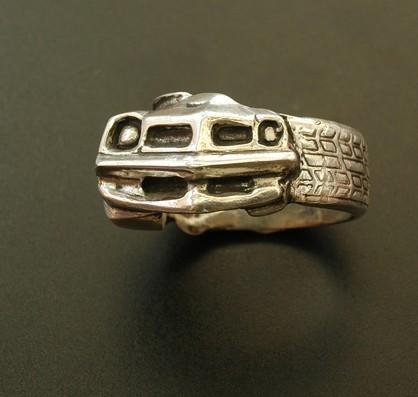 1976 Pontiac Trans Am Ring Muscle Car Ring Tire Ring