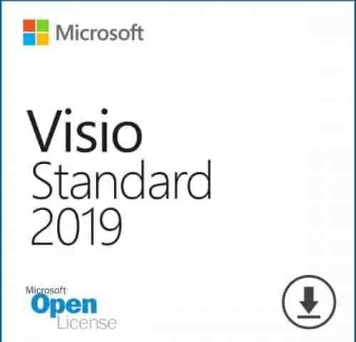 Tải & cài đặt Visio Standard 2019 Open License (OLP)