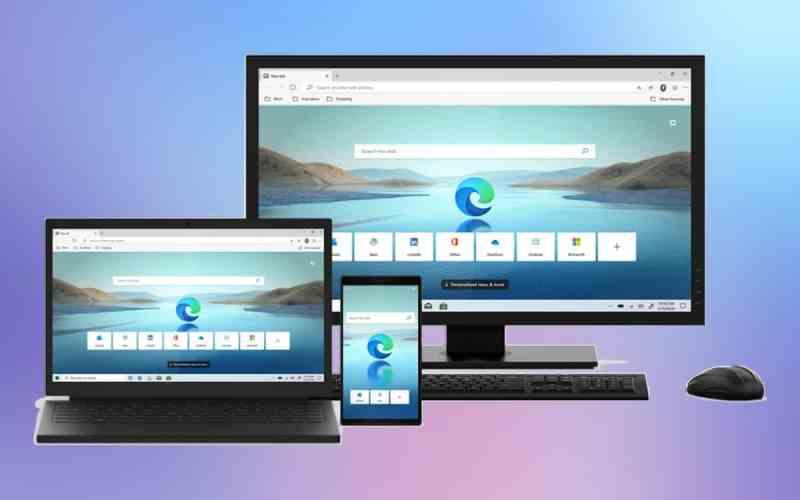 Microsoft Edge mới