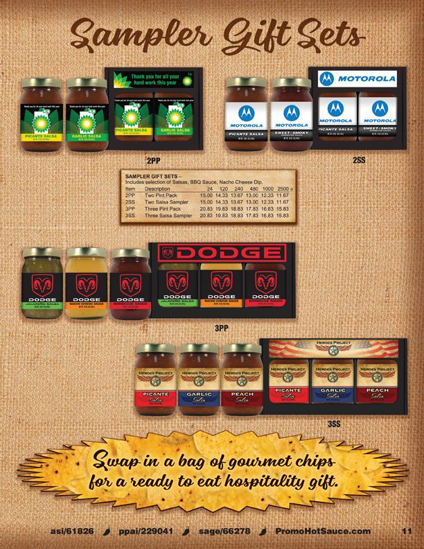 Page 11 - Sampler Gift Sets