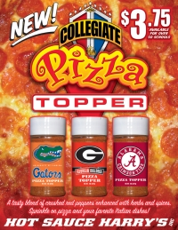 Collegiate Pizza Topper