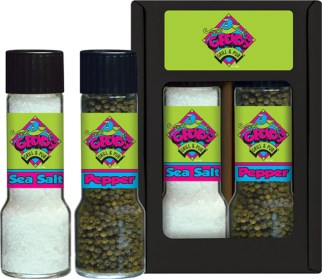 2R8 - Salt/Pepper Two Pack - Restaurant - Geckos