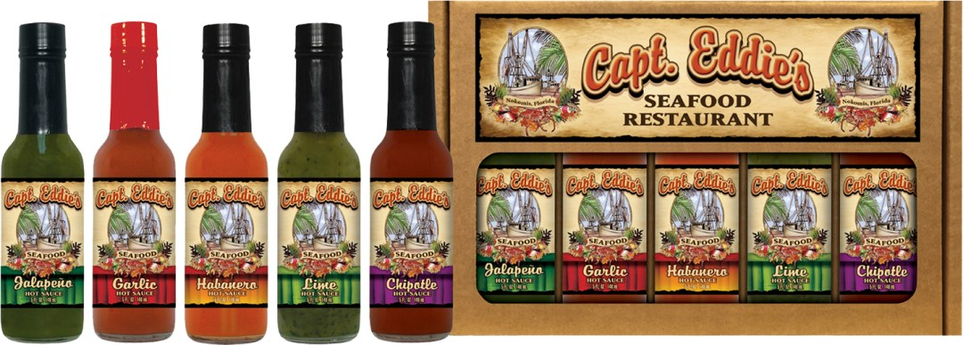 5HS - Five Pepper Pack - Restaurant - Capt Eddies