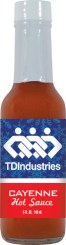 HS5C - Cayenne Hot Sauce (5oz) - Construction - TD Industries