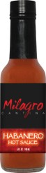 HS5H - Habanero Hot Sauce (5oz) - Restaurant - Milagro Cantina