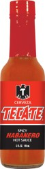 HS5H - Habanero Hot Sauce (5oz) - Beer - Tecate