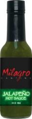 HS5J - Jalapeno Hot Sauce (5oz) - Restaurant - Milagro Cantina