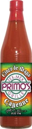 HS6C - Cayenne Hot Sauce (6oz) - Restaurant - Primo
