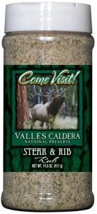 R16S - Steak/Rib Rub (pint) - National Park Gift Shop - Valles Caldera