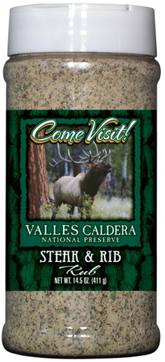R16S - Steak/Rib Rub (pint) - National Park Gift Shop - Valles Caldera