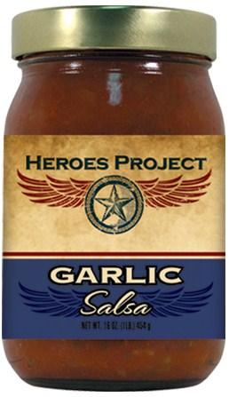 S16G - Garlic Salsa (16oz)