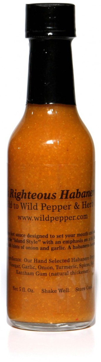 Ralphs Righteous Habanero Hot Sauce