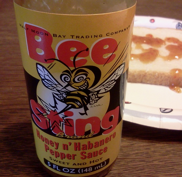 Hot Sauce #4 – Half Moon Trading Company Bee Sting Honey n' Habanero Pepper Sauce Review