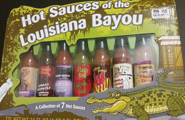 Hot Sauces of the Louisiana Bayou Collection