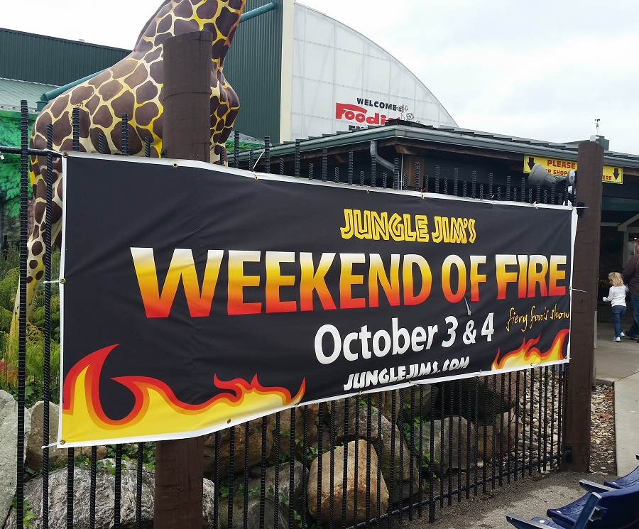 Hot Sauces #263 – 287 – Weekend of Fire 2015