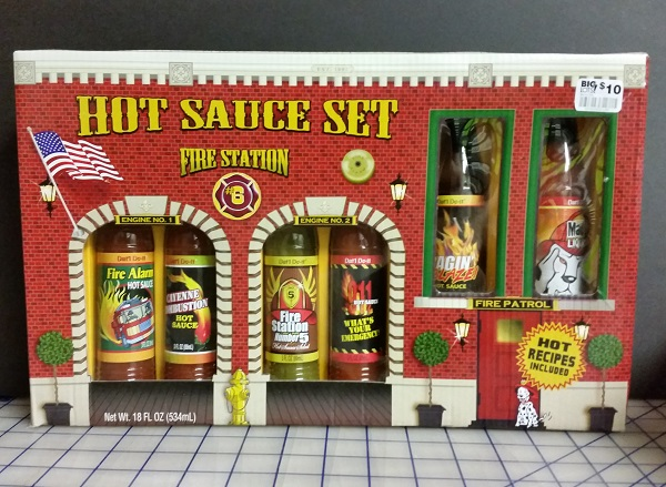 Hot Sauces #91 – 96 – Fire Station #6 Hot Sauce Set