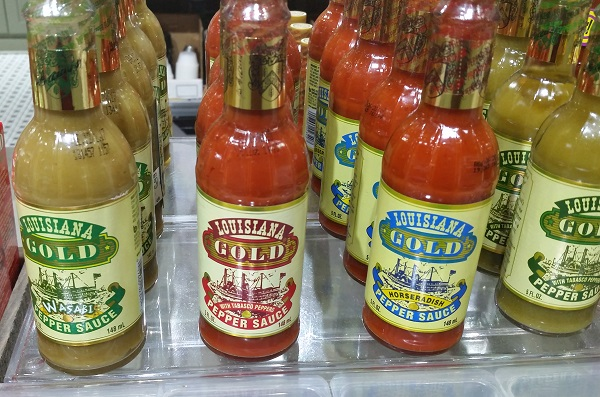 Louisiana Gold Hot Sauces
