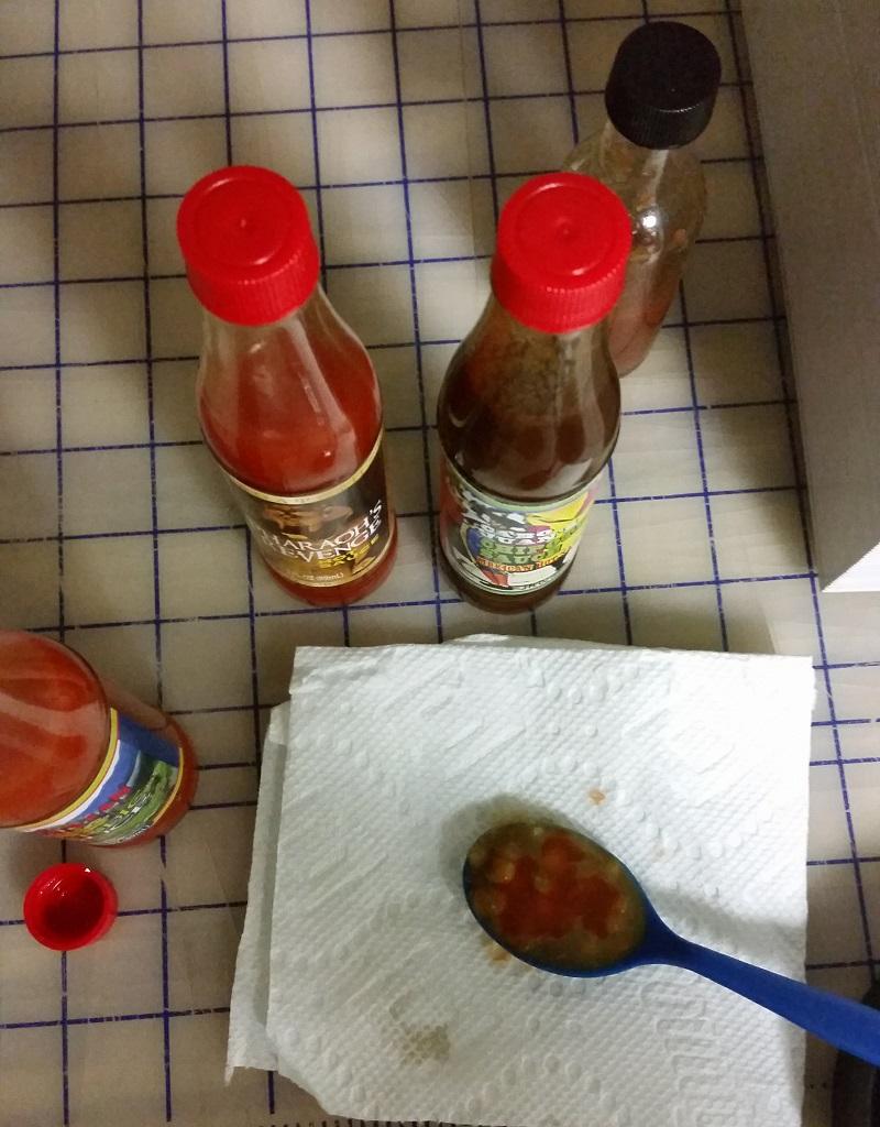 Sampling the Global Hot Sauce Collection