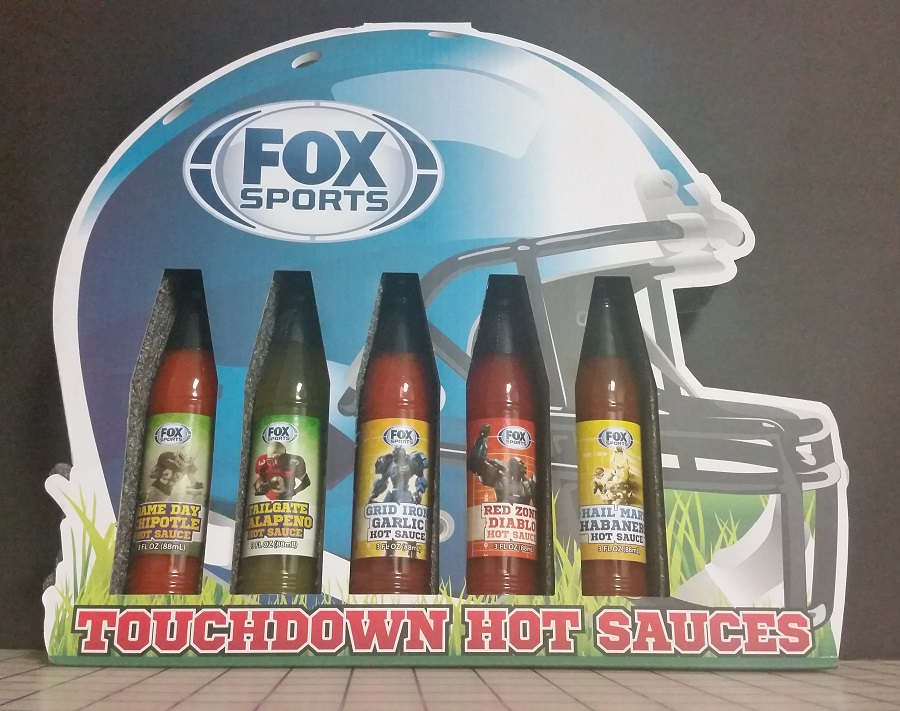 Fox NFL Hot Sauce Collection