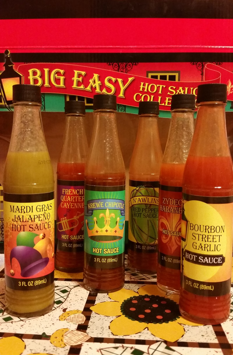 The Big Easy Hot Sauce Collection