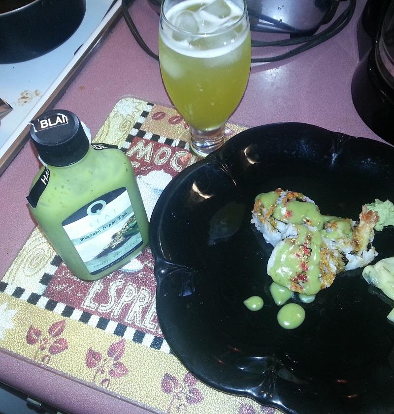 Hot Sauce #191 – Blair's Wasabi Green Tea Hot Sauce Review