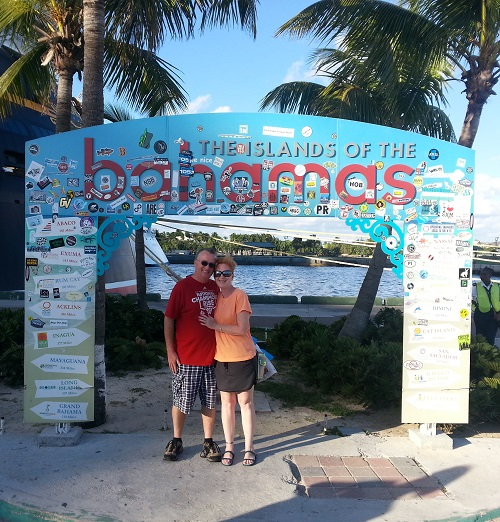 Normanda and Me in the Bahamas