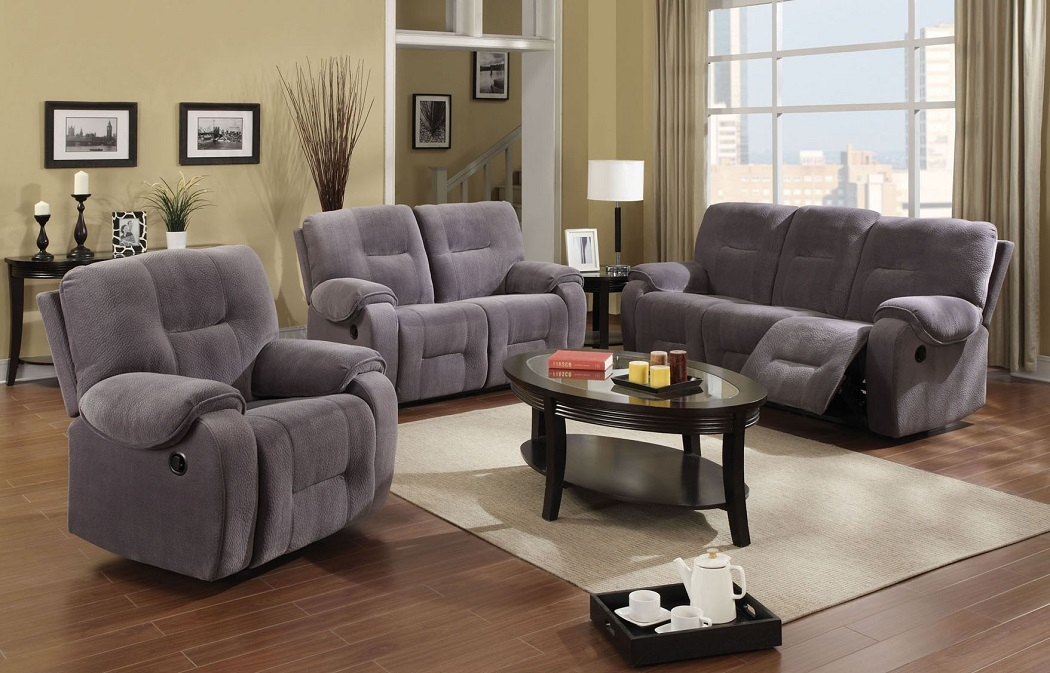Reclining Style Sofa With Loveseat Living Room Furniture