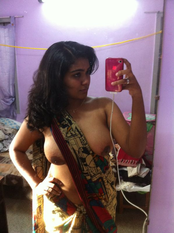 Indian Wife Stripping Her Blouse And Bra  Saree Women Hd -3349