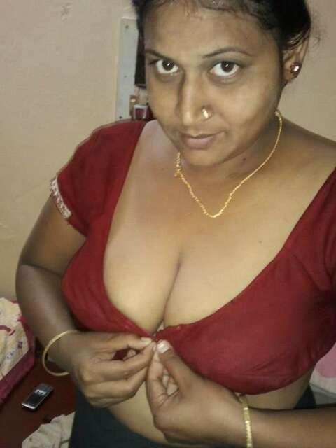 My aunty boob
