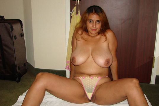 Fat aunty big boobs