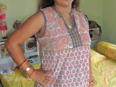 Desi girl comfort wear maxi nighty