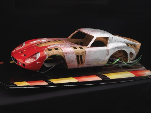 Ferrari GTO Automotive Sculpture